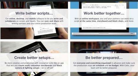 Celtx - Tell better stories. | Digital Film Making | Scoop.it