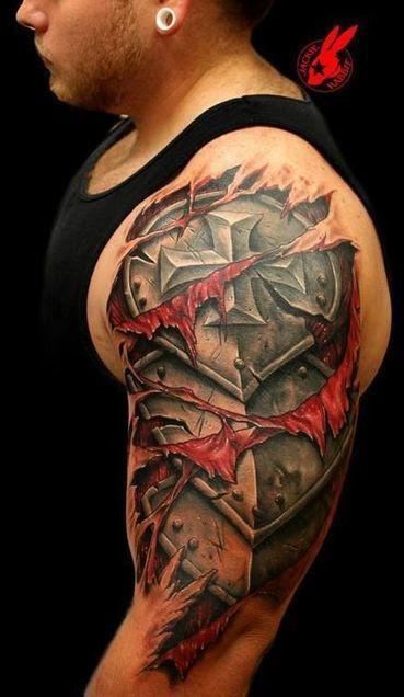 Armor Tattoos for a Gentleman | Gentleman's Gallery | Scoop.it