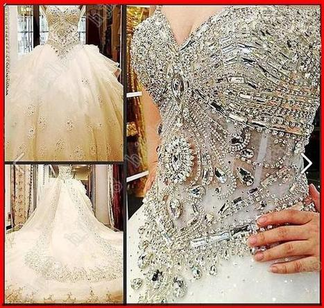 YZFASHION,BRIDAL, Bridal dresses, wedding, party gown | fashiondresses | Scoop.it