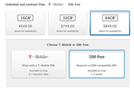 Apple starts selling unlocked, SIM-free iPhone 5s in the U.S. | Apple | Scoop.it