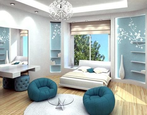 Extra Ordinary Teenager Girl's Bedroom Interior Design | Interior Decorating House | DesignBuild News | Scoop.it