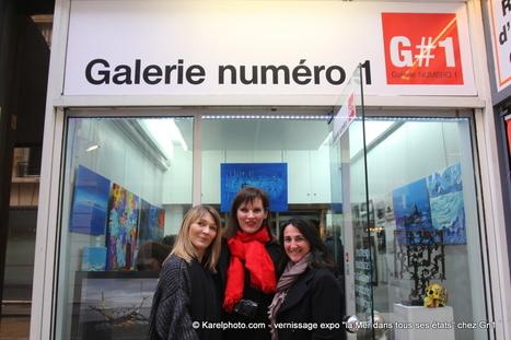 vernissage expo la Mer dans tous ses états chez Gn1 - Galerie Numéro 1 | Art Exhibition in Paris | Scoop.it