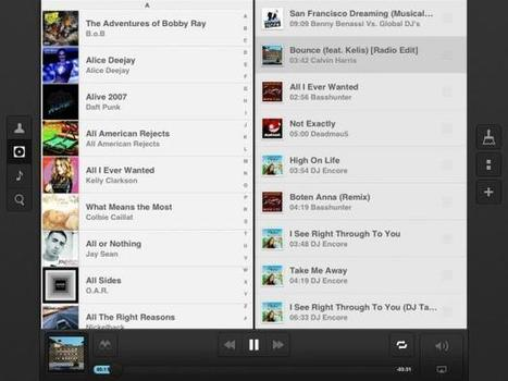 Couch Music Player for iPad review: create and edit playlists quicker than ever   iMore.com   Music Industry junk   Scoop.it