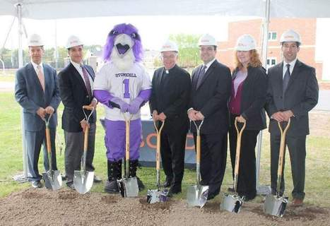 Stonehill breaks ground on sports complex project - Wicked Local Mansfield | Sports Facility Management.4191010 | Scoop.it