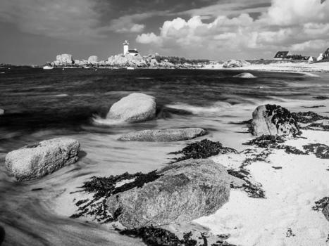 photo en Finistère, Bretagne et...: phare de Pontusval à Brignogan (8 photos) | photo en Bretagne - Finistère | Scoop.it