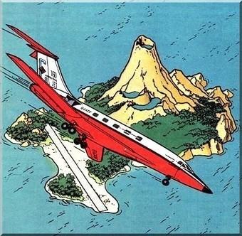 Les îles de Tintin : voyages dans les îles avec Tintin | Tintin, par Hergé | Scoop.it