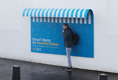 The advertising posters that think they're street furniture | Posters | Creative Bloq | Various Education | Scoop.it