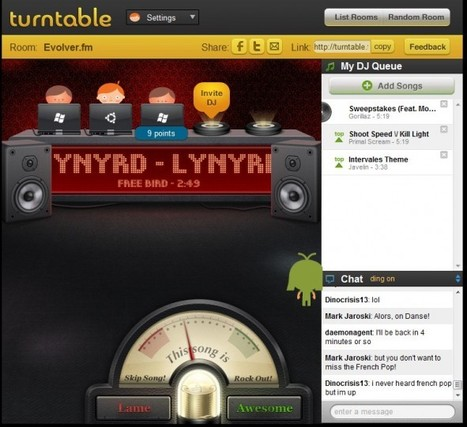 Turntable.fm Takes 'Social Music' Beyond the Buzzword | Social Media Strategist | Scoop.it