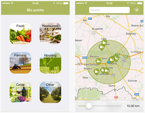 Bio Locator, l'appli pour encourager le commerce bio de proximité - Belgique | Comprendre le réel intérêt de produire une agriculture BIO en France plutôt que d'importer des produits présentant un label pas vraiment Certifié. | Scoop.it