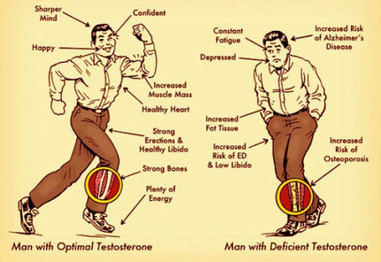 Signs You're Suffering from Low Testosterone | Useful Fitness Articles | Scoop.it