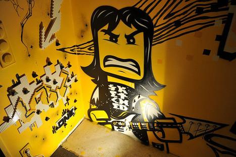 LEGO-Graffiti   Conception   Scoop.it