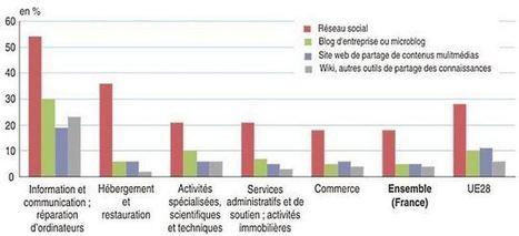 Les entreprises françaises à la traîne sur les médias sociaux   Social media tools and tips   Scoop.it