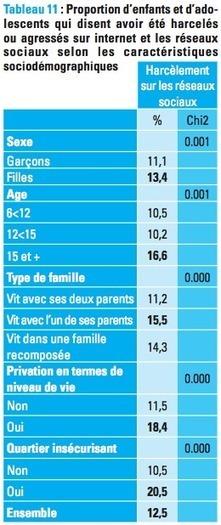 12,5 % des jeunes français victimes de cyber-violence selon l'UNICEF   Les réseaux sociaux - EPN Cyberglac' La Glacerie   Scoop.it