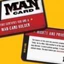 "Assault rifle company issues ""man cards"" 