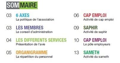 Rapport d'activité de l'AVIE 2014 (Cap emploi, Saphir, Sameth) - Le blog de l'avie | avie | Scoop.it