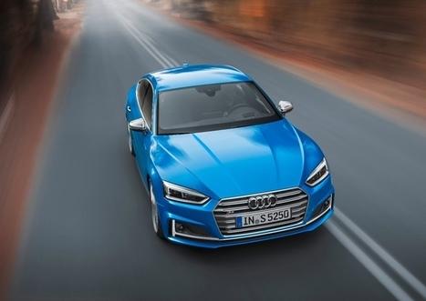 Audi A5 Sportback will offer an updated concept of management and information display - Your News Ticker | technologynews | Scoop.it
