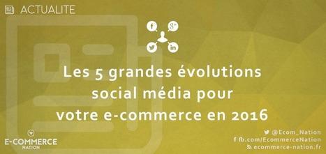 Les 5 grandes évolutions social média pour l'année 2016 | Retail Innovation | Scoop.it