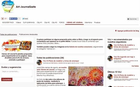 Viernes Art Journal: 34 propuestas ya a tu disposición | Red Social de Manos y Mente | Scoop.it