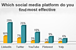 LinkedIn, Twitter Growing in Effectiveness For SMBs | Managing options | Scoop.it
