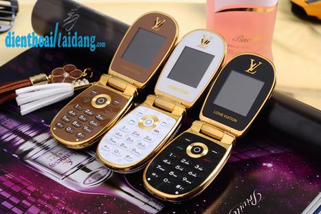 Louis Vuitton LV M9 - Điện thoại nắp bật đẳng cấp hàng hiệu | Dien thoai Hai Dang .com | Scoop.it