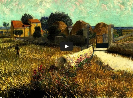 Luca Agnani -Van Gogh 3D Animation- | digital art and media | Scoop.it