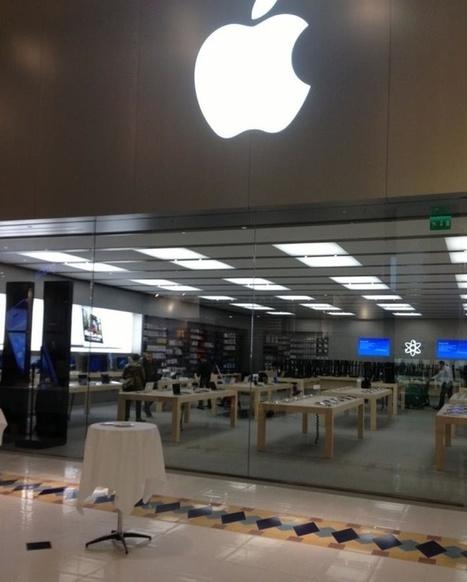 Apple Store de Nantes : derniers préparatifs | Internet va t'il tuer les commerces de proximiter ? | Scoop.it