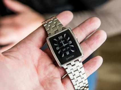[TEST] Pebble Steel, une montre connectée très design ! | Connected-Objects.fr | Domotique, robotique et objets connectés sur le Net | Scoop.it