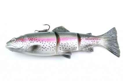 EFTTEX 2014 Leurre souple Savage gear 3D Trout Line Thru Swimbait | La pêche | Scoop.it