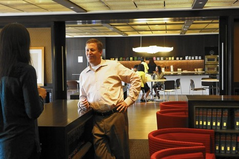 Companies recast office break room as collaborative workspace   Collaborative, Productive and Innovative Workspaces   Scoop.it