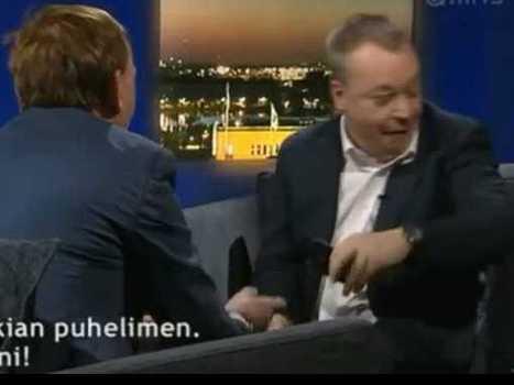 Watch Nokia CEO Stephen Elop Throw A Reporter's iPhone On The Floor   Digital-News on Scoop.it today   Scoop.it
