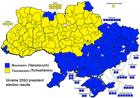 This one map helps explain Ukraine's protests | What's New on the 39 Topics I Follow? | Scoop.it