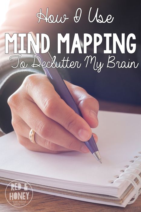 How I Use Mind Mapping to Help Declutter My Brain - Red and Honey | All About Coaching | Scoop.it