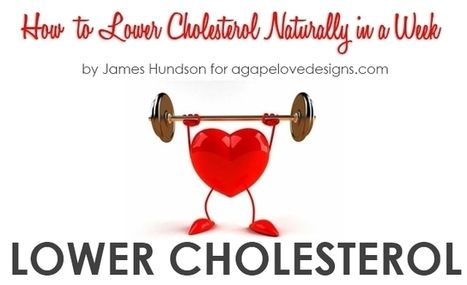 Agape Love Designs: How to Lower Cholesterol Naturally in a Week | Weight Loss and Health | Scoop.it