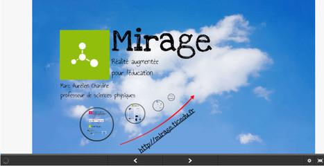 Mirage – réalité augmentée pour l'enseignement | Ressources pour la Technologie au College | Scoop.it