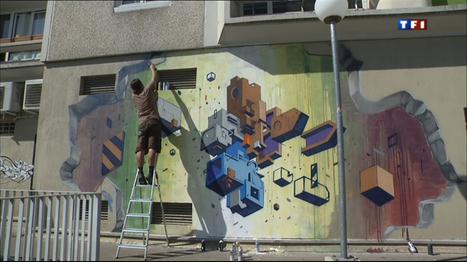 Le journal de 20h - Vitry-sur-Seine, temple du Street Art | CGMA Généalogie | Scoop.it
