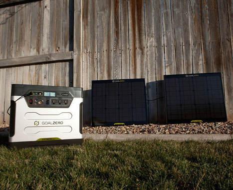Goal Zero Yeti 1250 Solar Generator | Off-Grid Living | Scoop.it