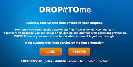 DropBox as a Hand-in Folder   social media in classroom   Scoop.it