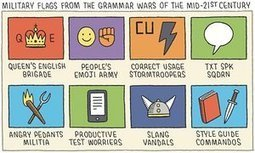 Cartoonist Tom Gauld on 21st-century grammar wars | All Things Bookish: All about books, all the time | Scoop.it