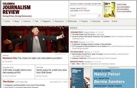 Columbia Journalism Review | Top sites for journalists | Scoop.it