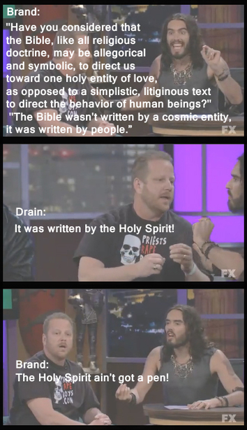 My favorite bit from the Russell Brand, Westboro Baptist Church interview - Imgur | Westboro Baptist Church | Scoop.it