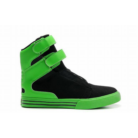 supra tk society high top green black suede women shoes | new and share style | Scoop.it