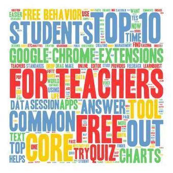 Top 10 FREE Google Chrome Extensions for Teachers | Elementary Technology Education | Scoop.it