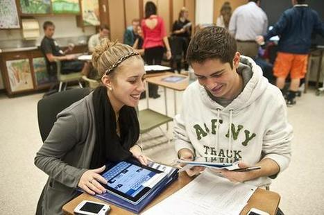OMG! A student's BFF: Technology puts learning into their hands - The Saratogian | 21st Century IT in Schools | Scoop.it