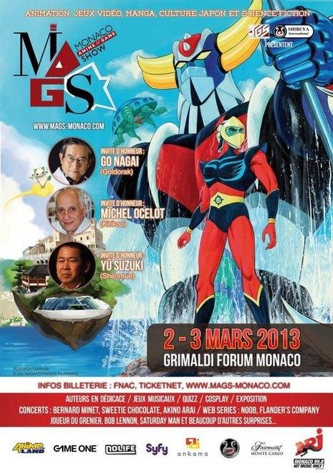 Lancement du Monaco Anime Game Show les 2 et 3 mars au Grimaldi Forum | Les évènements Japon en France | Scoop.it