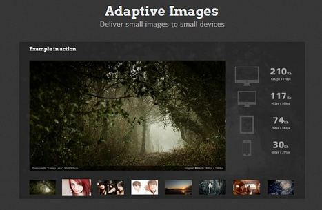Adaptive Images in HTML | Responsive design & mobile first | Scoop.it
