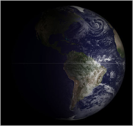 La Tierra en el equinoccio de marzo de 2013 | Lurdes | Scoop.it