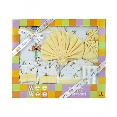 Mee Mee Baby Gift Set Yellow – Pack of 9 Rs.945.00 | Blog | Scoop.it