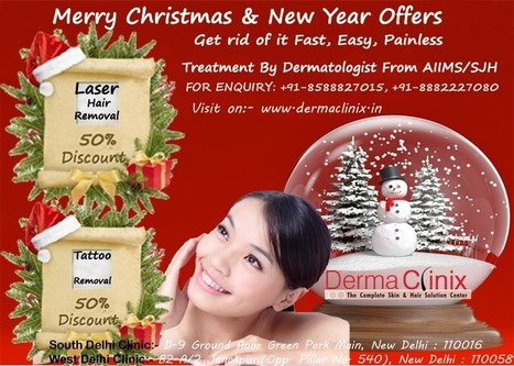 #Laser Hair Removal Up to 50% Off | DermaClinix - The Complete Skin & Hair Solution Center | Scoop.it