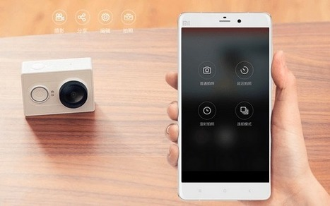 Yi Action Camera is the New GoPro Rival   Mobel Media   Alwasat_tech   Scoop.it