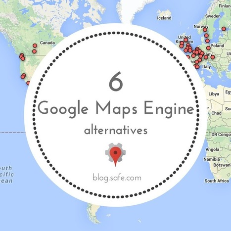 ArcGIS Online -->  6 Google Maps Engine Alternatives | Inteligência Geográfica | Scoop.it